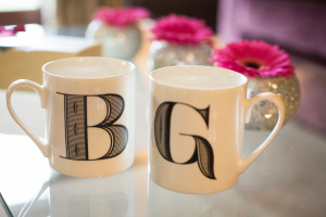 Bride and Groom Wedding Mugs