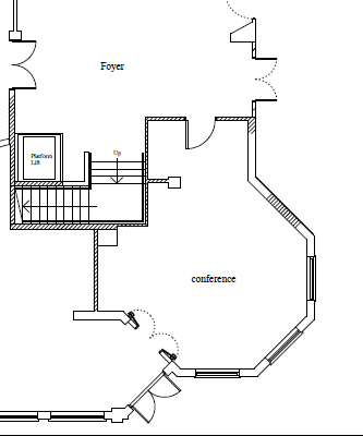 The Turret Suite Plan
