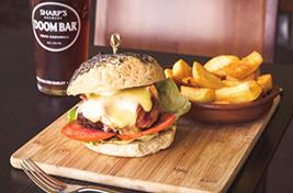 Lanhydrock Dine Burger Image