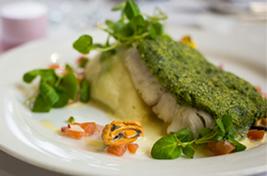 Lanhydrock Dine Fish Image