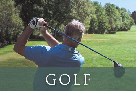 Lanhydrock Hotel Golf Button