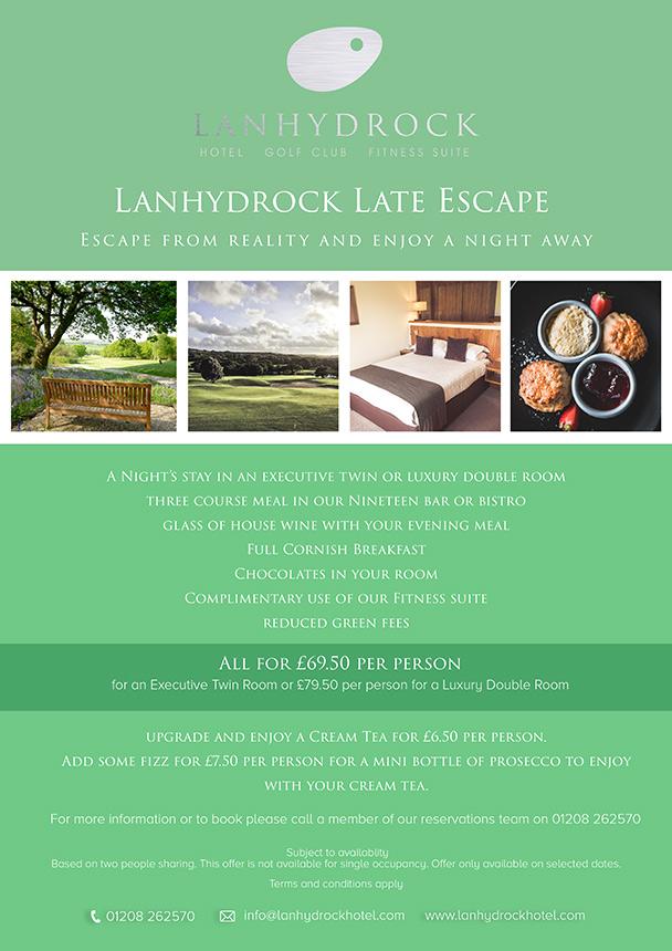 Late Escape Poster