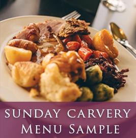 Lanhydrock Hotel Sunday Carvery Menu Image