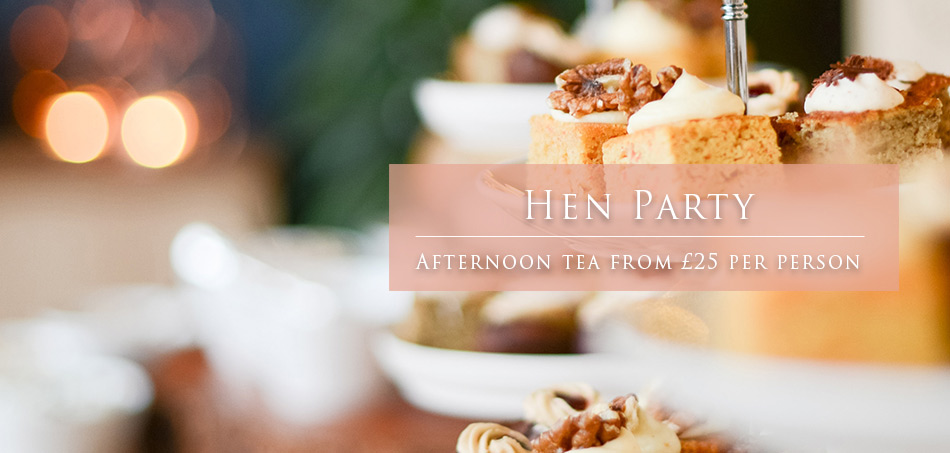 Hen Party Afternoon Tea Package At Lanhydrock Hotel