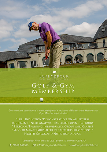 Golf & Gym Membership Poster