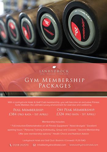 Gym - Lanhydrock Hotel