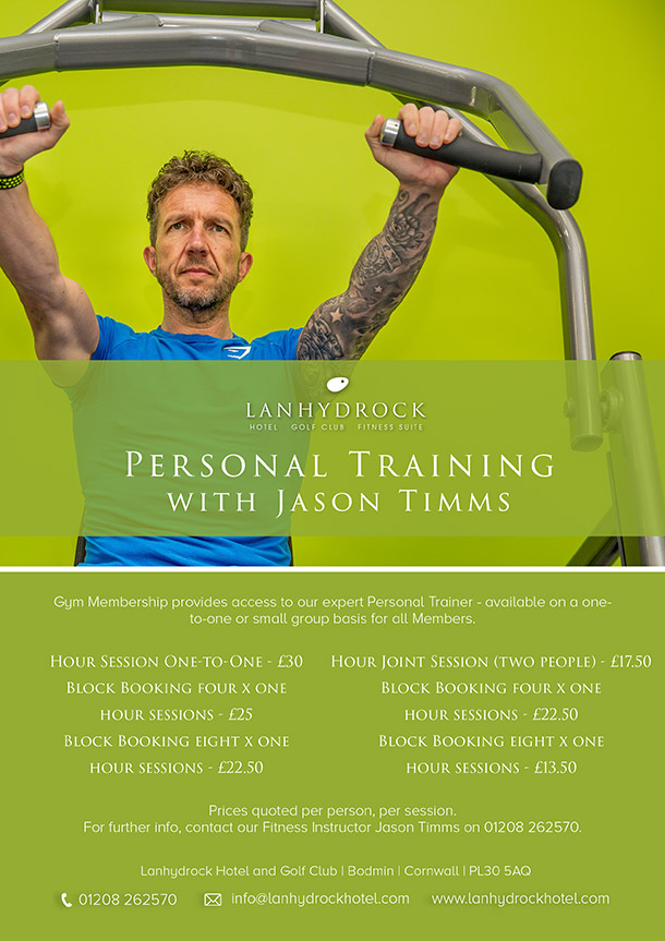Personal Training with Jason Timms Poster