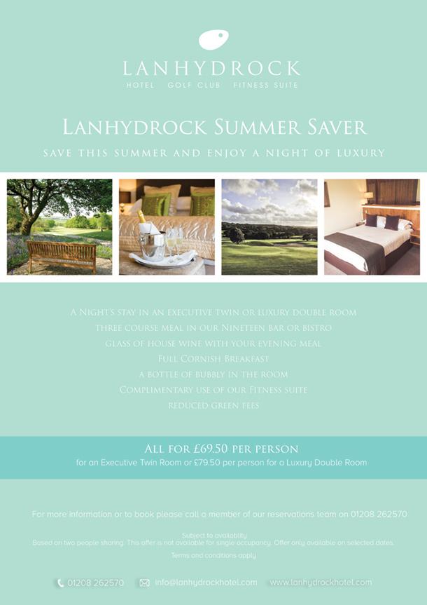 Summer Saver Offer Poster
