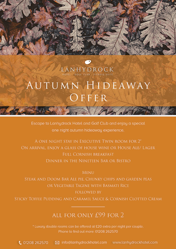 Autumn Hideaway Poster
