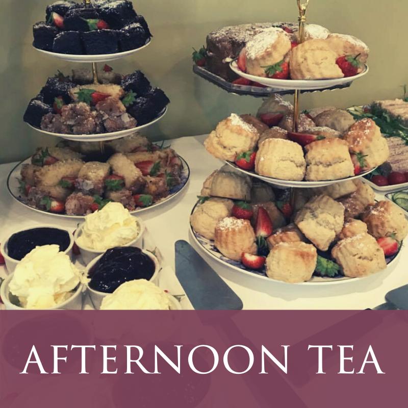 Lanhydrock Hotel Afternoon Tea Menu Image