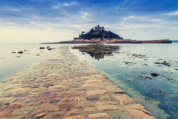 St Michaels Mount in Cornwall