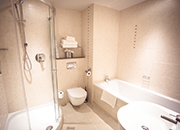 Double Room Bathroom Lanhydrock Hotel