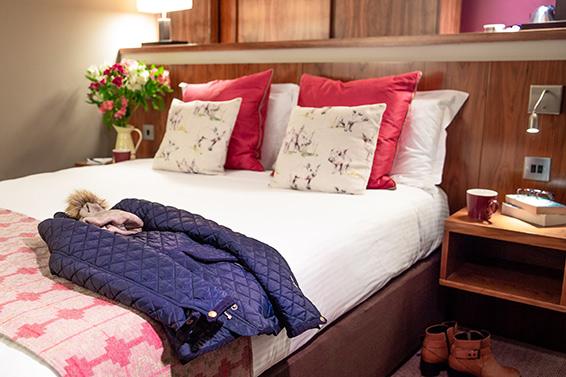 Double Room Bedroom Lanhydrock Hotel