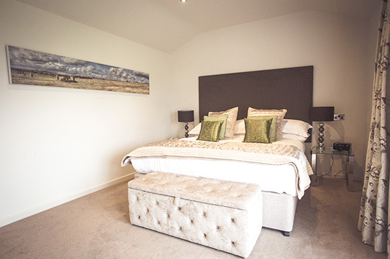 Superior Suite Bedroom Lanhydrock Hotel